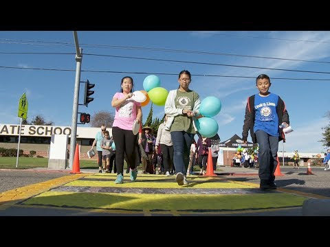 Garden Grove Making Routes to School Safer