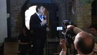 """Lucian Georgescu - Introducere, lansare """"Tatăl fantomă"""" (Cărtureşti Verona, 2013.12.06)"""