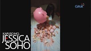 Kapuso Mo, Jessica Soho: 6-anyos, nakaipon ng libo-libong piso!
