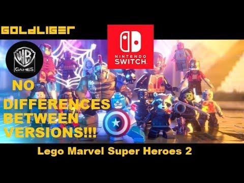 LEGO Marvel SuperHeroes 2 Switch Version News - YouTube
