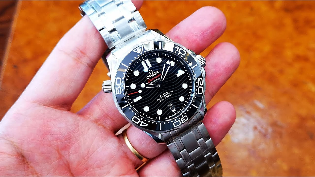 [Review Đồng Hồ] Omega Seamaster Professional Diver 300m 210.30.42.20.01.001 | ICS Authentic