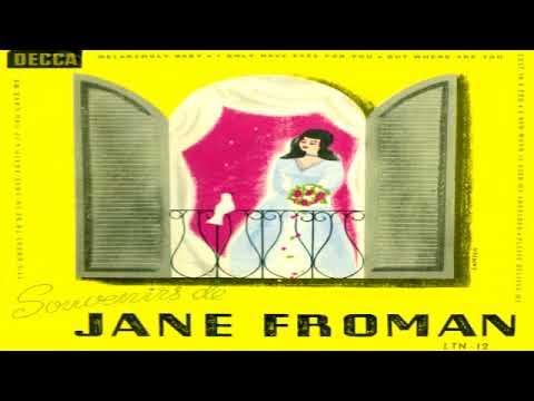 Jane Froman - Souvenirs de Jane Froman GMB