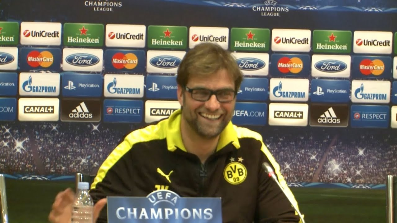 BVB Pressekonferenz vom 2. April 2013 vor dem Champions League Spiel Malaga CF gegen Borussia Dortmund