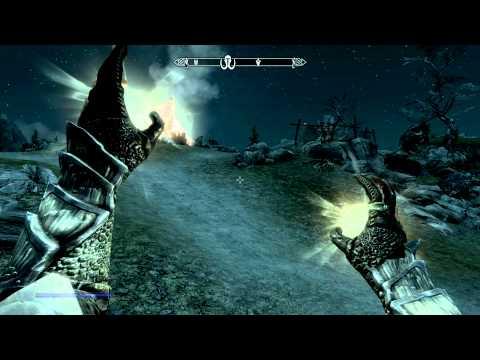 [HD][PC] Skyrim: Destruction Magic No Mana-Cost / 100% Reduction