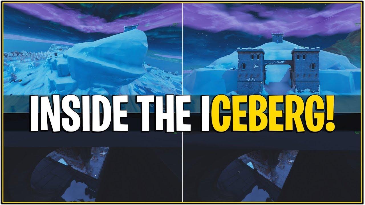 New Leaked Iceberg Melting Event Leaked Inside Iceberg Castle