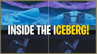 *NEW* LEAKED ICEBERG MELTING EVENT! *Leaked Inside Iceberg Castle Fully* (Fortnite)