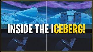 ÉVÉNEMENT DE FUSION D'ICEBERGS « NOUVEAU » QUI A FUI ! 'Leaked Inside Iceberg Castle Fully' (Fortnite)