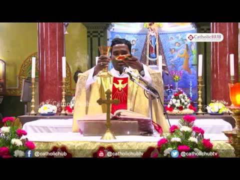 English Mass @ Shrine of Our Lady of Health, Khairtabad, Hyderabad, Telangana, INDIA 06 01 2020