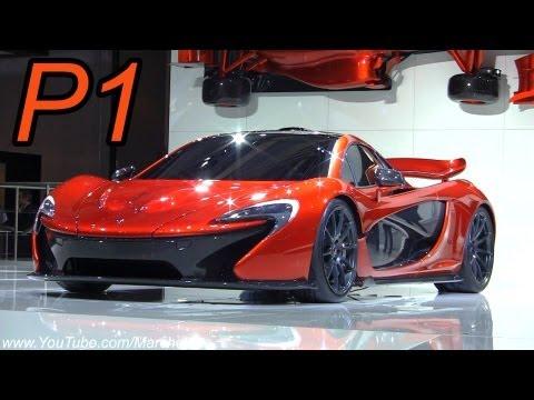 McLaren P1 LIVE World Debut! - 2012 Paris Motor Show