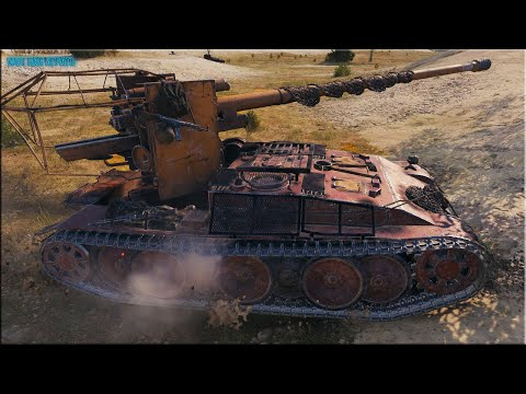 Мастер на Grille 15 ✅ World of Tanks лучший бой