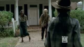 The Walking Dead - Trailer  Mid Season 4  with Carl Grimes.