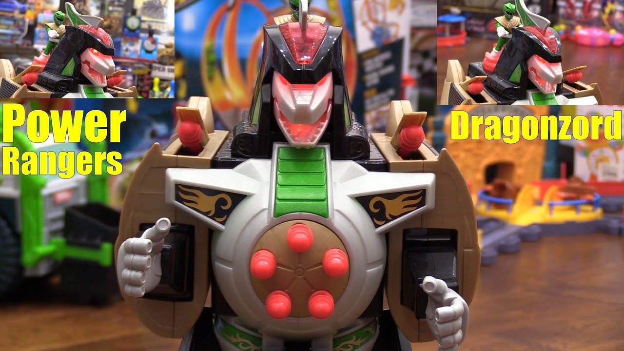 Uncategorized Robot From Power Rangers mighty morphin power rangers dragonzord remote control robot toy playtime