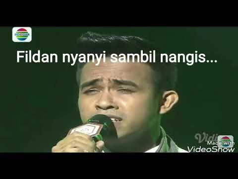 Fildan DA ASIA 3  tadi malam nyanyi lagu india sambil nangis