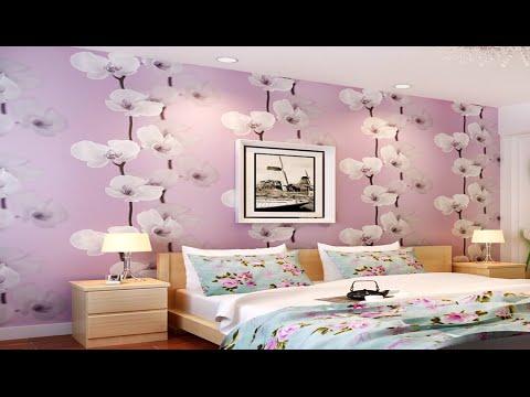 ديكور ورق حائط غرف نوم ثلاثي الابعاد 2017 | Wallpaper Decoration