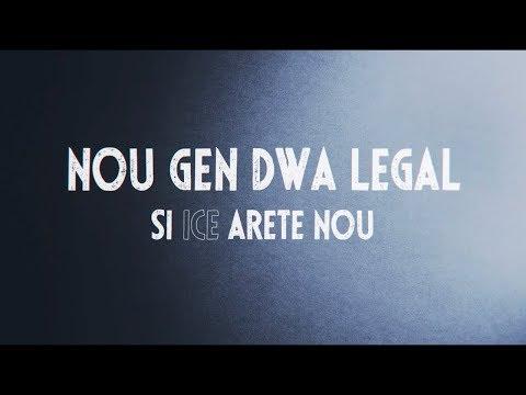 NOU GEN DWA LEGAL: Si ICE Arete Nou (Haitian Creole)