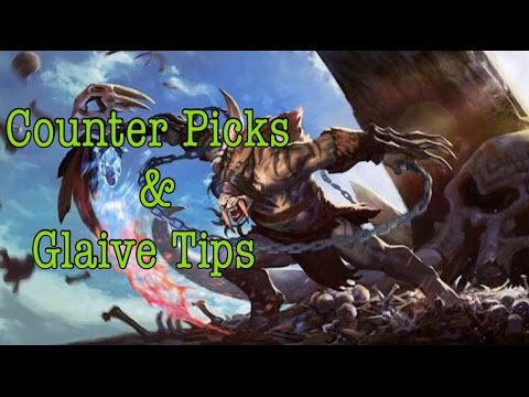 Vainglory - Counter Picks & Glaive Tips