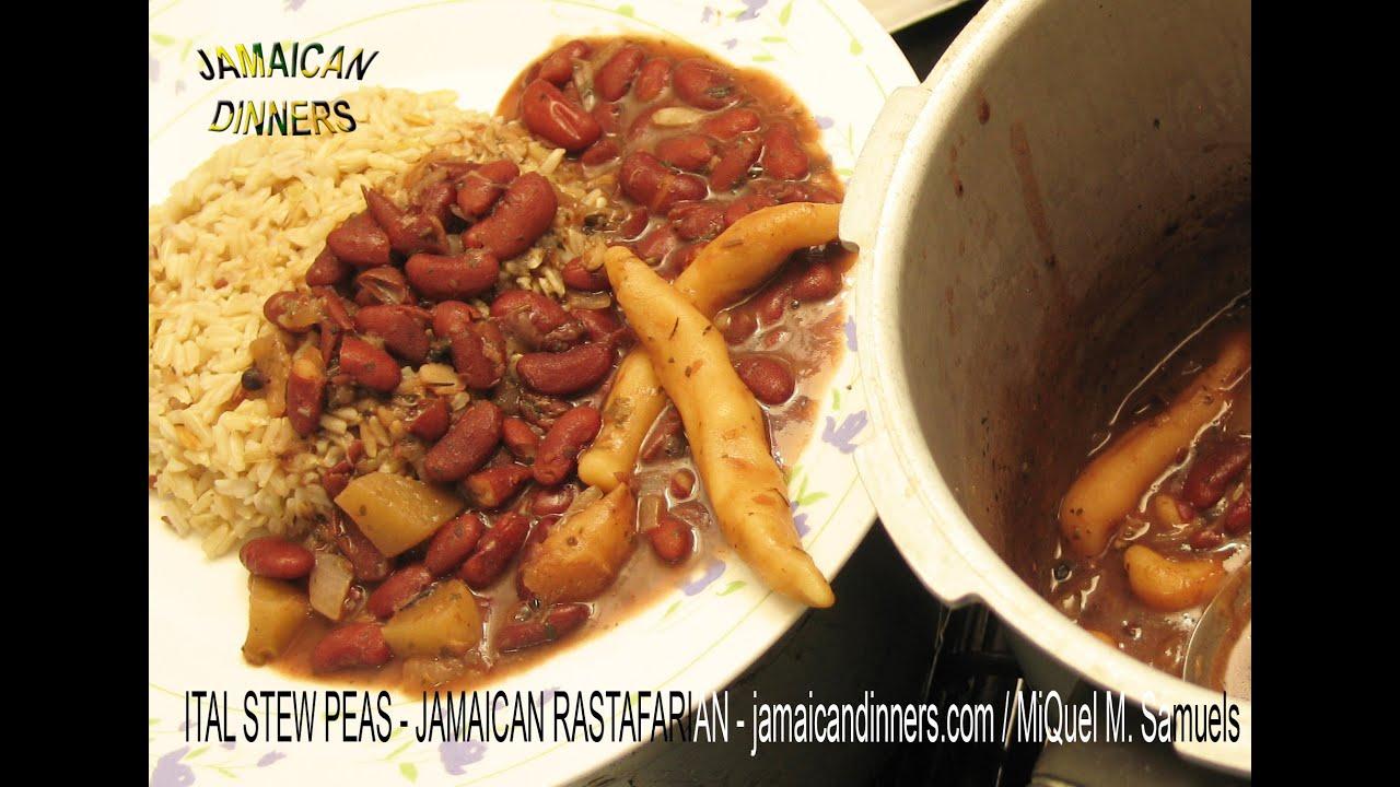 Ital stew peas rastafarian vegetarian dinners cookbook recipe ital stew peas rastafarian vegetarian dinners cookbook recipe youtube forumfinder Image collections