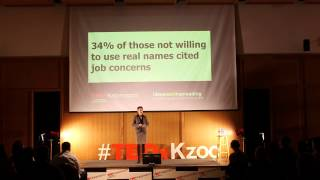 Why anonymous commenting is good: Jen Eyer at TEDxKalamazoo
