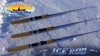 Обзор зимних удилищ ICE ROD