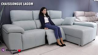 Vídeo: Sofá Chaiselongue LAGOM