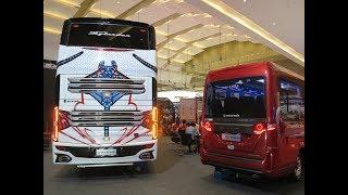 Необычные автобусы c острова Ява