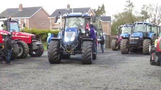 Five Road Ends Tractor Club Tractor Run 2016