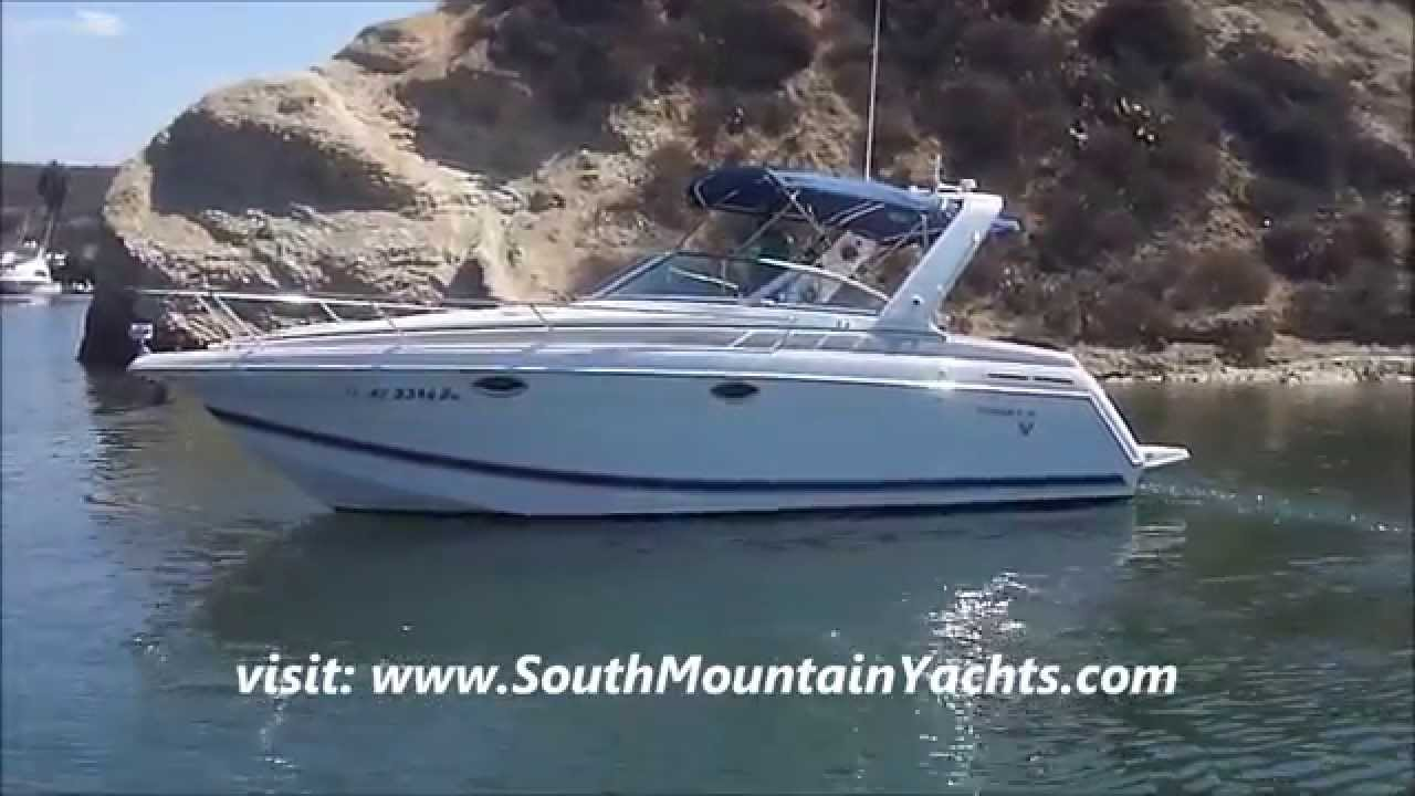 Formula 27 Express Cruiser Water Profile & Cabin Tour By South Mountain  Yachts (949) 842-2344