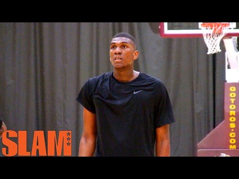 Kevon Looney 2015 NBA Draft Workout - 1st Round Pick NBA Draft 2015