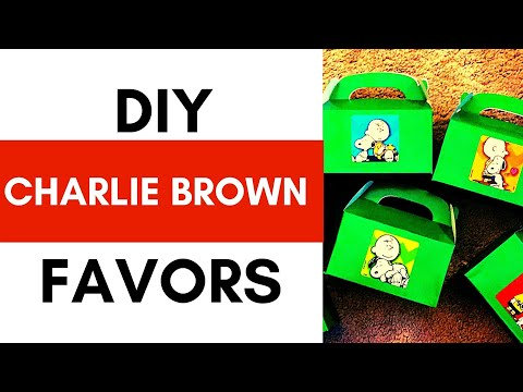 how-to:-make-charlie-brown-party-favors-for-kids- -diy-snoopy-favors- -let's-craft
