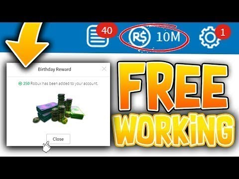 2018 New Glitch 1 Million Robux From Changing Birthday Hack Free Robux On Roblox 2018 - roblox commands exploit get million robux