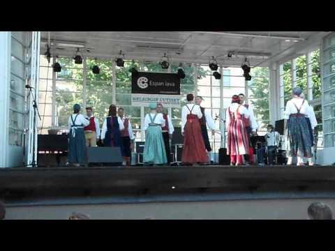 Folk dance, Espan lava Helsinki, Finland 18.06.2012