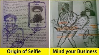 Funniest Textbook Drawings By Bored Students