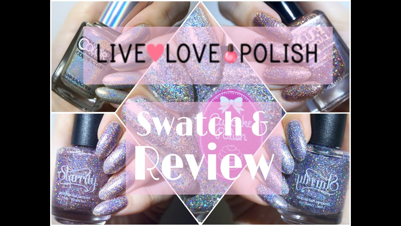 Live Love Polish | Starrily, FUN, Cupcake Polish, Color Club Review ...