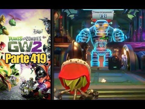 ¡APURADISIMO! - Parte 419 Plants vs Zombies Garden Warfare 2 - Español