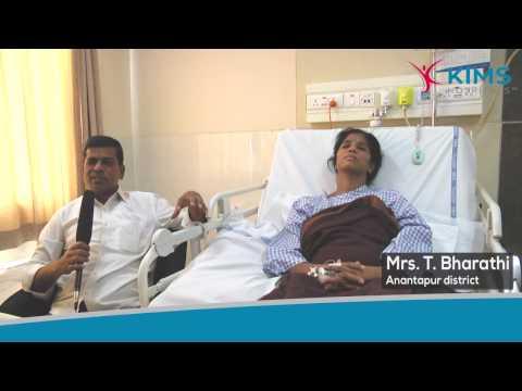 Mrs. T. Bharathi Testimonial :: Severe Cerebral Angiogram :: Dr. Manasa Kumar Panigrahi