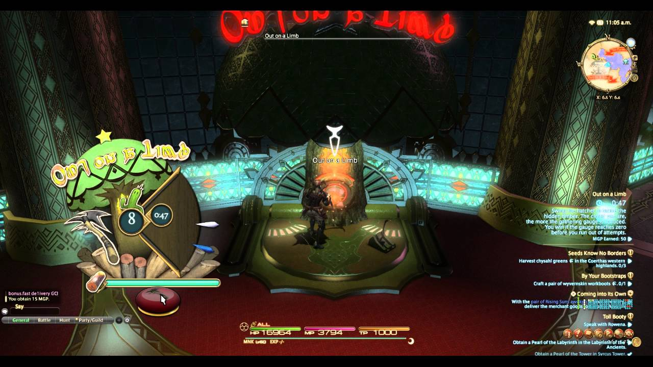 Final Fantasy XIV Gold Saucer MGP Grind: Post 3 25 Patch