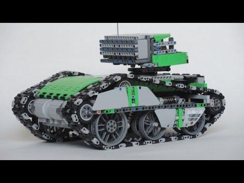 Lego Technic drone tank by Samolot