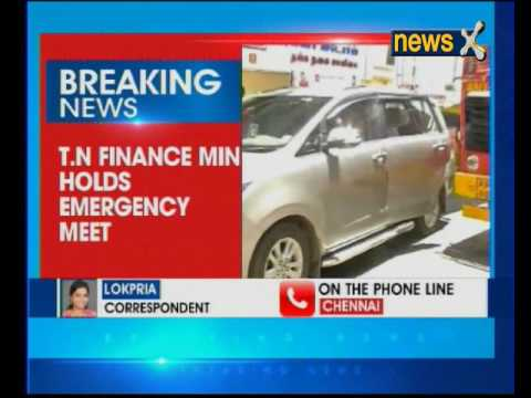 Tamil Nadu Finance minister holds emergency meet with 17 ministers