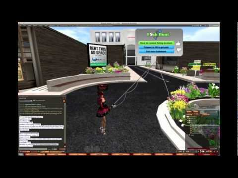Fish Hunt - Earn Linden Dollars in Second Life