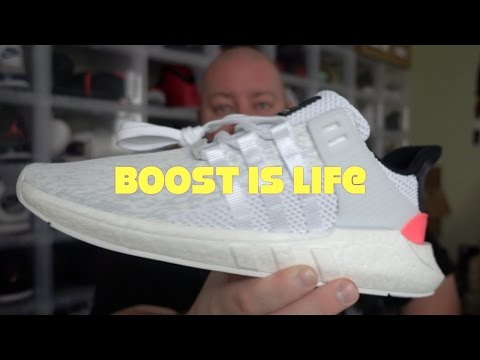 Adidas BOOST IS LIFE Explained + Adidas Boost EQT Support 93/17 Unboxing & Review