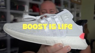 adidas boost is life explained adidas boost eqt support 93 17 unboxing review