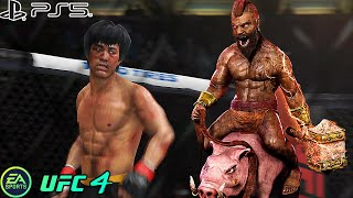 UFC 4   Bruce Lee VS Hog Rider    PS5