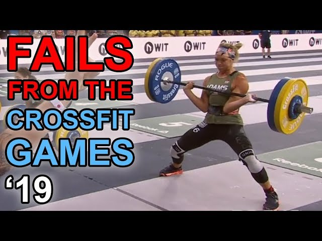 Exercises in Futility - Fails from the CrossFit Games 2019