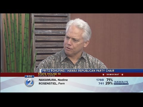 INTERVIEW: Hawaii Republican Party chair Fritz Rohlfing