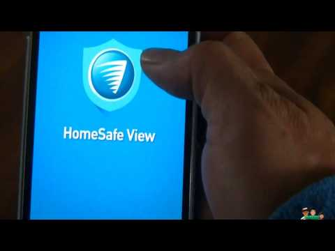 Swann Home Safe View Set Up and a short demo ( HomeSafeView