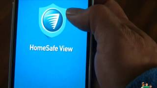 Swann Home Safe View Set Up and a short demo ( HomeSafeView app)