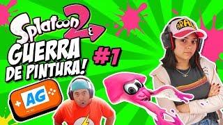 GUERRA DE PINTURA Splatoon 2 Gameplay en Español Modo ONLINE de Nintendo Switch #1