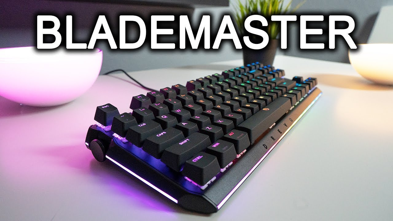 4050b7a6318 Can This Keyboard Really Make You Better at Gaming? Drevo ...