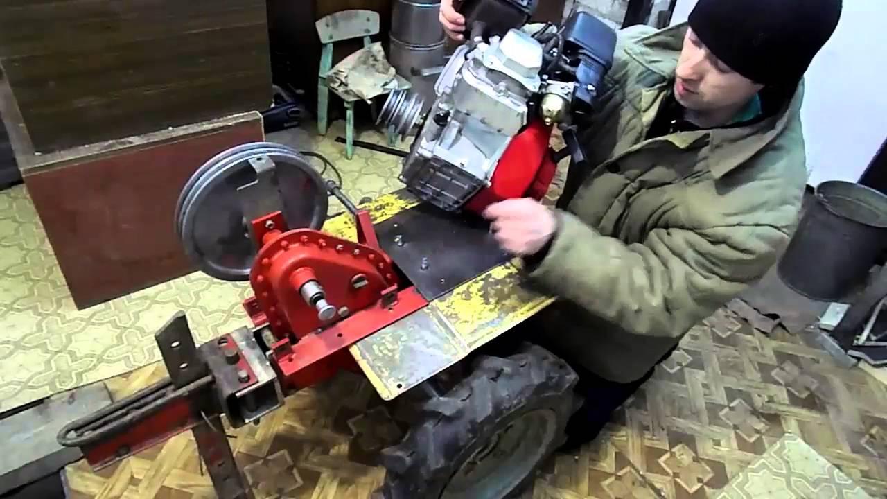 Обслуживание мотоблока НЕВА МБ-2 // Замена приводного ремня и .