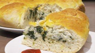 Пирог со шпинатом и моцареллой - рецепт для лакто-ово-вегетарианцев